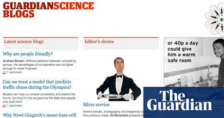 Do you want to join the Guardian\'s science blog network? | Alok Jha ...