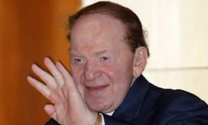 Sheldon Adelson, major donor to Newt Gingrich's Super Pac