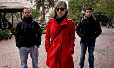 Christos Xeraxoudis, Evangelia Hadzichristofi and Giorgos Dimas