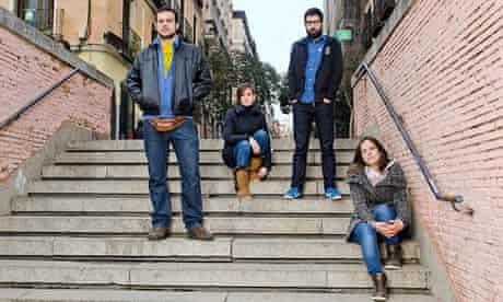 Eduardo Caña, Marita Blázquez, Adriano Justicia, María Lázaro