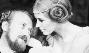 Nicol Williamson and Marianne Faithfull in Hamlet, 1969