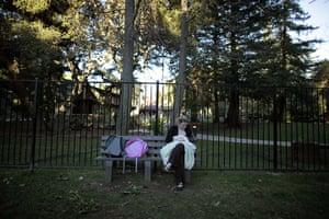 Hope Gardens : Doreen Earp breastfeeds her daughter Emily at Hope Gardens Family Center