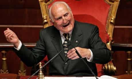 Oscar Luigi Scalfaro in 2006