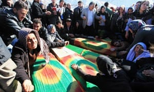 Turkey air-strike victims