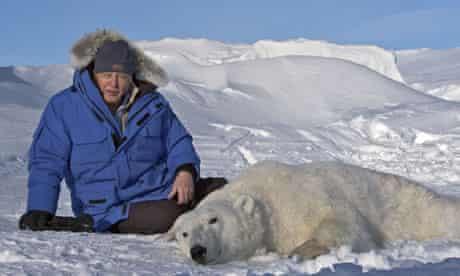 Sir David Attenborough in Frozen Planet