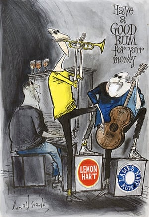 Ronald Searle: The Band Have a Good Rum for Your Money by Ronald Searle