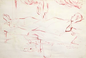 Ronald Searle: Sick Prisoner of Burma Railway, by Ronald Searle