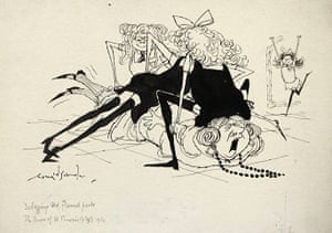 Ronald Searle: Debagging Old Flannel Pants, by Ronald Searle