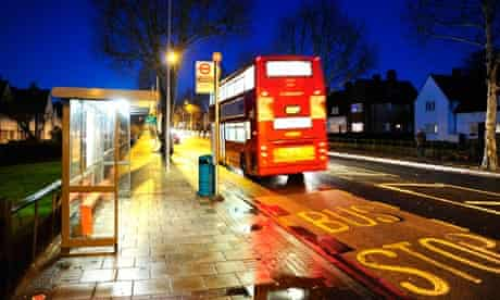 The Eltham bus stop where Stephen Lawrence was stabbed