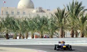 Formula One's Bahrain International Circuit in Sakhir