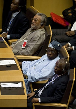 African Union meeting: in Addis Ababa