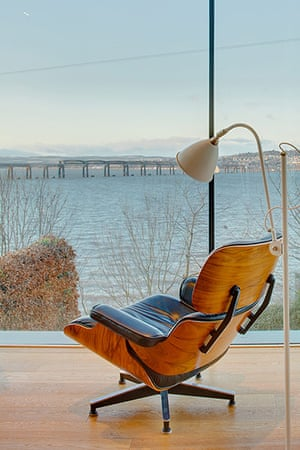 Firth of Tay house: View and chair