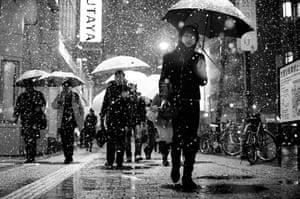 Tokyo Bloggers: Snow in Shibuya