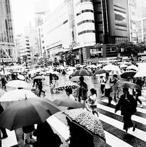 Tokyo Bloggers: Rain on Shibuya