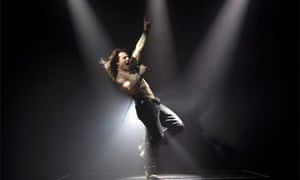 Rock of Ages, Tom Cruise as Stacee Jaxx