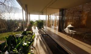 Villa Tugendhat: The winter garden of the villa