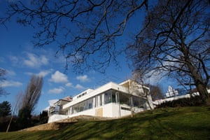 Villa Tugendhat: The exterior of the Tugendhat Villa in Brno, Czech Republic