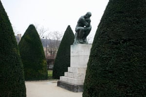 Rodin Museum: The Thinker at The Rodin Museum
