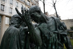 Rodin Museum: The Burghers of Calias at The Rodin Museum