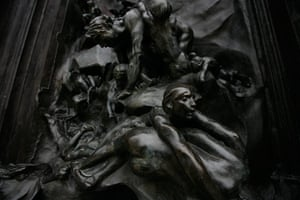 Rodin Museum: The Gates of Hell, by Auguste Rodin