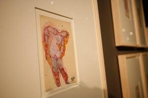 Rodin Museum: Drawing by Rodin