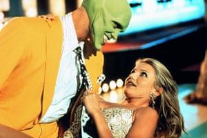 Models turned actresses: Jim Carrey & Cameron Diaz in The Mask 1994