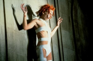 Models turned actresses: Milla Jovovich in The Fifth Element 1997