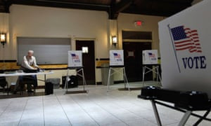 Polling station in Tampa