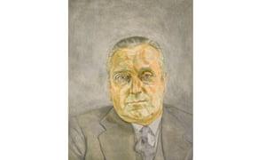 Freud's Portrait of a Man