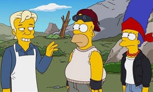 Julian Assange appears in a forthcoming episode of The Simpsons