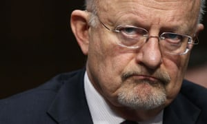 The US director of national intelligence, James Clapper