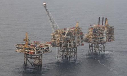North Sea Oil scotlands
