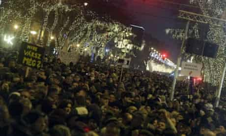 Budapest protests