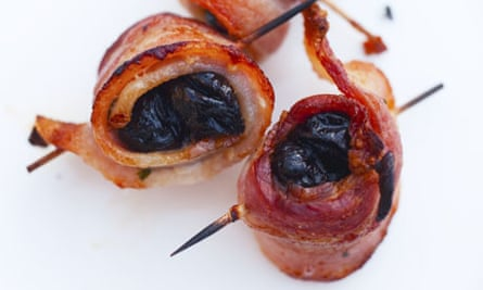 Nigel Slater's devils on horseback