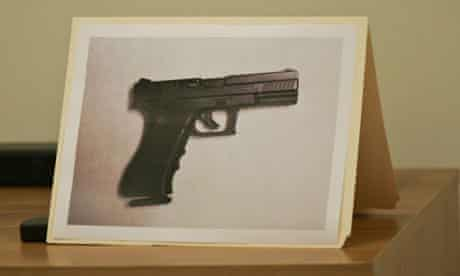 Police said Jaime Gonzale, 15, had refused to lower this air pistol when they shot him dead