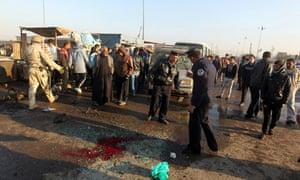 Baghdad Sadr City bomb