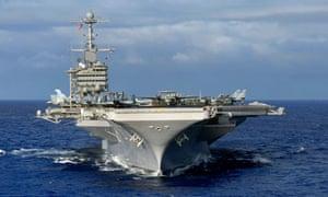 The USS John C Stennis