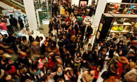Boxing Day sale in Selfridges