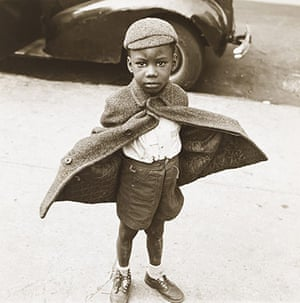 New York photography: Butterfly Boy, New York, 1949 by Jerome Liebling