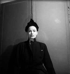 New York photography: Greta Garbo, 1946 by Cecil Beaton