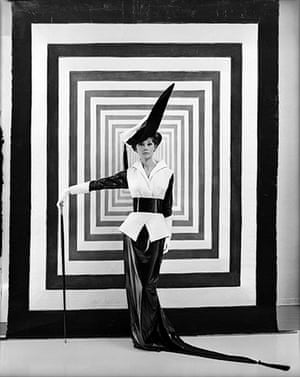New York photography: Audrey Hepburn in a costume for the film version of My Fair Lady
