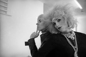 New York photography: Andy Warhol and Candy Darling, New York City, 1969 by Cecil Beaton