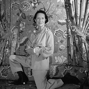 New York photography: Diana Vreeland, 1954 by Cecil Beaton