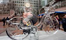 London Ice Sculpting Festival