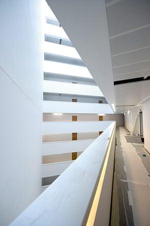 Olympic village: Atrium