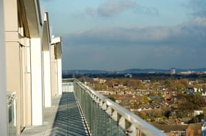 Olympic village: balcony