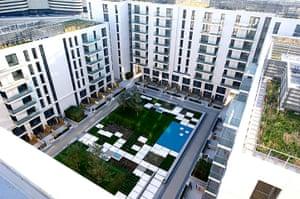Olympic village: N7 Courtyard
