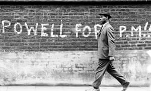 1968 graffiti calling for Enoch Powell to be made prime minister