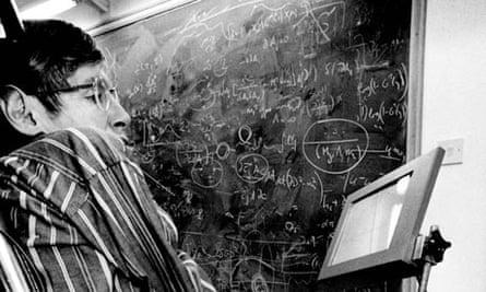 Stephen Hawking in 1994