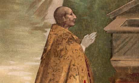 Pope Alexander VI Praying